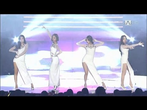 140403 Girl's Day - Something + Expectation @ M! Countdown