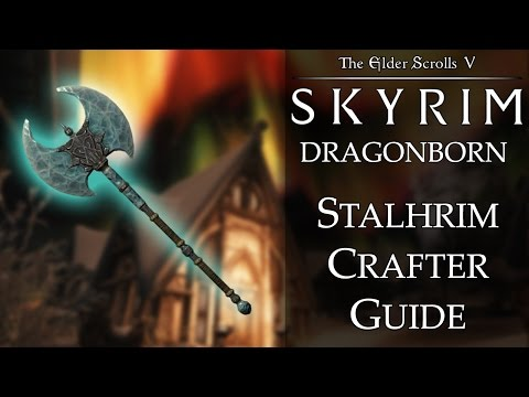 Skyrim DLC: Dragonborn - Stalhrim Crafter Achievement Guide