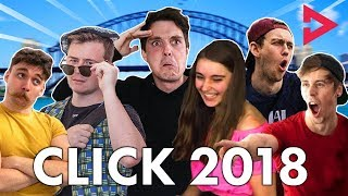 CLICK REWIND 2018 Ft. Lazarbeam, Muselk,  Loserfruit, Crayator, BazzaGazza and Marcus