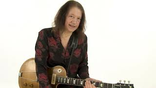Robben Ford Blues Guitar Lesson - Bo Diddley Squat: Comping Approach Demo