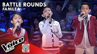 Kurt, Johnrey, & Ian - Believer | Battle Rounds | The Voice Kids Philippines Season 4