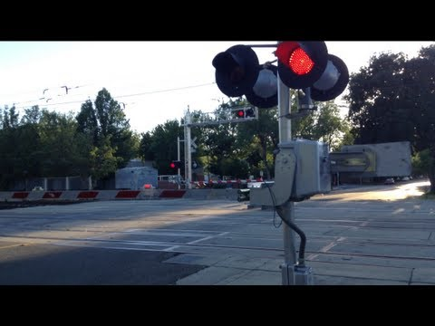 Railroad Crossing at S Street Malfunction