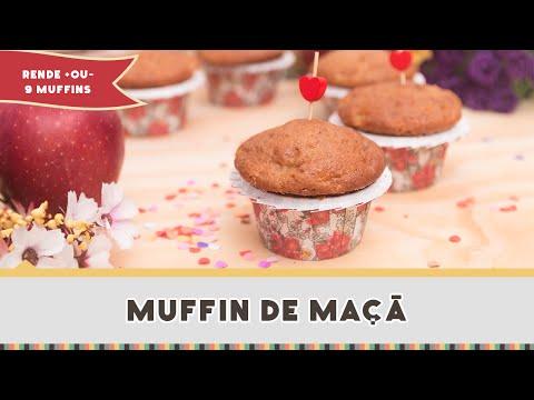Muffin de Maçã - Receitas de Minuto #201