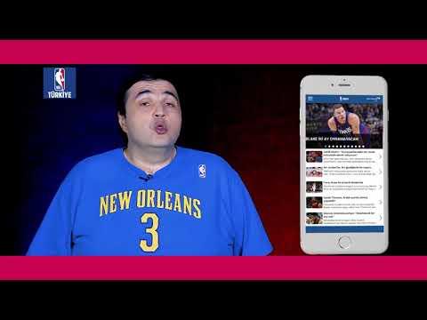 NBA Türkiye uygulaması iOS ve Android marketlerde tamamen ücretsiz!