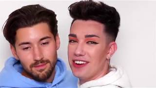 James Charles and Jeff Wittek Being A Couple for 10 Minutes