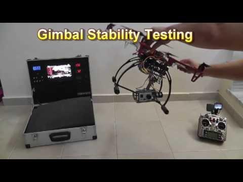 AlexMos 2.0b3 + RCTIMER 2-Axis Brushless Gimbal Preflight Testing