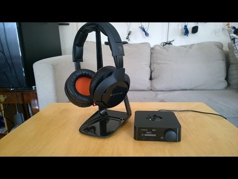 SteelSeries H Wireless Headset Review: The Best!!