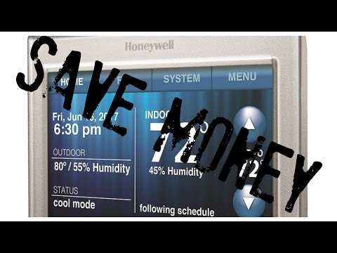 Honeywell Smart WiFi Thermostat - Setup and use