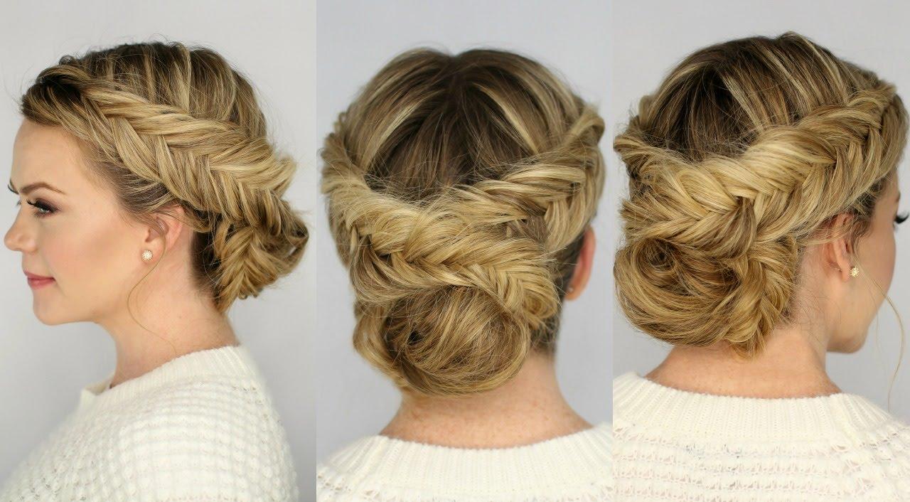 Причёски с косичками на средние волосы своими руками
