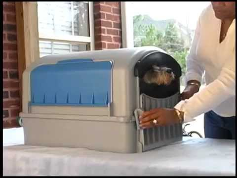 The New, Incredible & Revolutionary Self-Contained Pet Bathing Device -