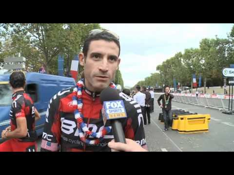 Stage 21 - George Hincape - 2011 Tour de France