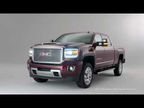 2017 GMC Sierra HD: Precision-Engineered Diesel Performance