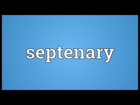 Header of septenary