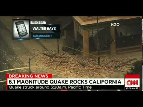 Epic Earthquake Rocks CA 6.1 Napa Valley Breaking News