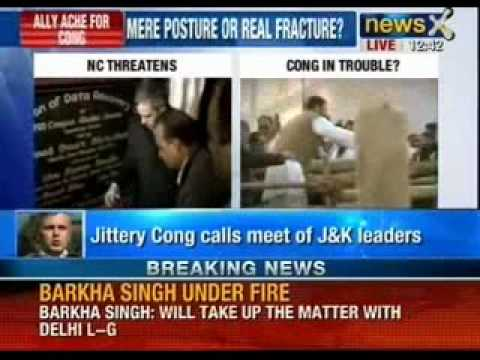 Jammu & Kashmir news: Last ditch efforts to save National Conference & Congress alliance
