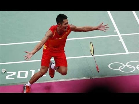 Lee Chong Wei vs Lin Dan Olympic London 2012 Match Point!