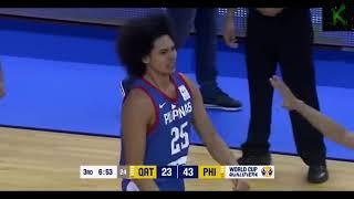 Gilas Pilipinas Highlights vs Qatar I Fiba World Cup 2019 Qualifier