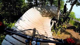 Surviving the SLOP at Mont Sainte-Anne | Mountain Biking Quebec City