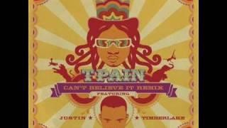 Download Lagu T-Pain - Can't Believe It Remix (ft. Justin Timberlake) Gratis STAFABAND