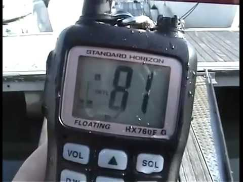 Standard Horizon HX760E Bluetooth VHF radio