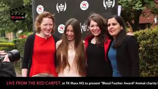 TK Maxx receives FOUR PAWS UK's 'Blood Feather Award' in red carpet event of the year!