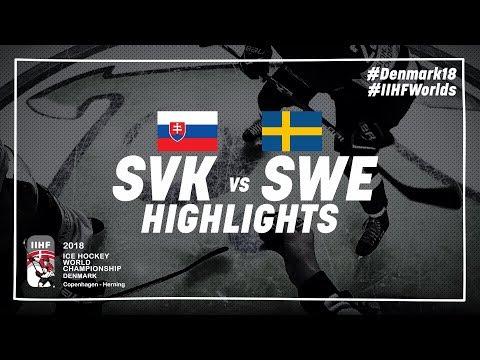 Game Highlights: Slovakia vs Sweden May 12 2018 | #IIHFWorlds 2018