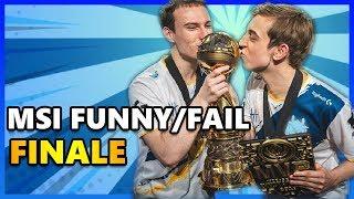 Top Funny & Fail Finals MSI Phần 4 - MÚA LỬA CÙNG MSI 2019 | EVOS