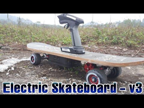 How to Build a Electric Skateboard - v2 up v3