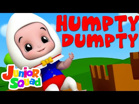 Junior Squad | Humpty Dumpty Sat On A Wall | Nursery Rhymes | Children Song | Baby Rhymes