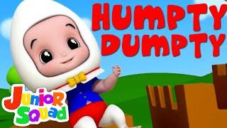 Junior Squad   Humpty Dumpty Sat On A Wall   Nursery Rhymes   Children Song   Baby Rhymes