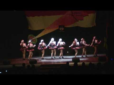 BKN - Saya 2010 - Vinnare - Femenino - Semifinal - Caporales - Bolivia Kommittén Norrköping