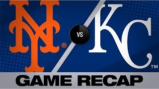 deGrom, Alonso lead Mets to 4-1 victory | Mets-Royals Game Highlights 8/17/19