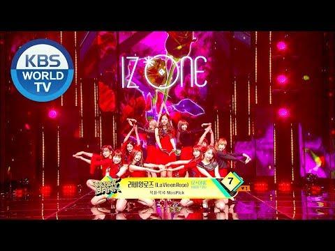 IZ*ONE - La Vie En Rose | 아이즈원 - 라비앙로즈  [Music Bank / 2018.11.23]