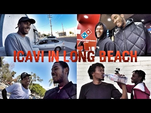 A DAY WITH THE HOMIES - ICAVI IN LONG BEACH WIT IT