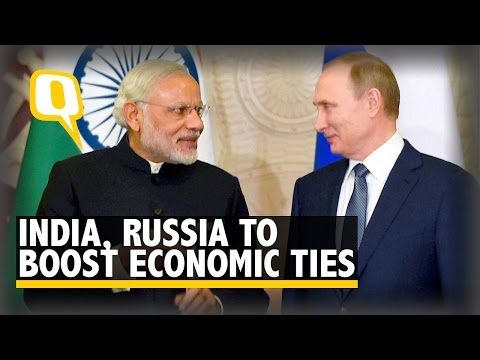 India, Russia to Strengthen Economic, Nuclear and Defence Ties