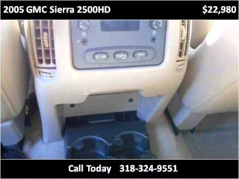 2005 GMC Sierra 2500HD Used Cars West Monroe LA
