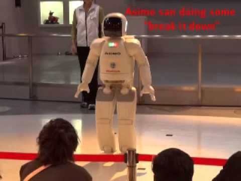 Asimo the Talking Robot