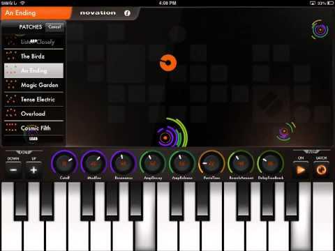 Novation Launchkey iPadアプリ