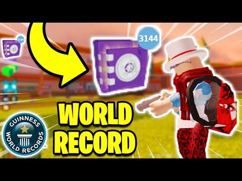 Roblox Jailbreak BUYING 45,000 SAFES! *BROKE THE GAME* (World Record?)