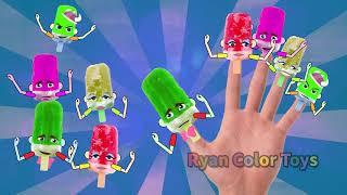 Ice Cream Finger Family rhymes Song  | family finger|finger song|Chansons pour enfants Les enfants