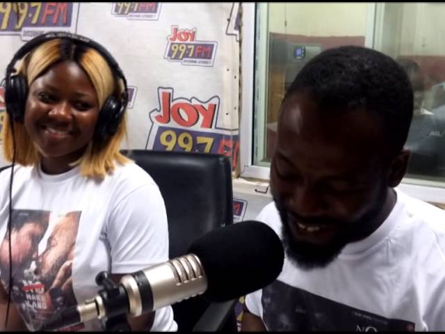 Adjetey Anang reads Valentine letters on Drive Time