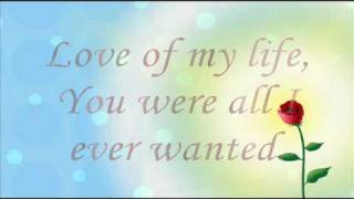 My Dream has Come True - Love of my life, Romantic Melody with Lyrics