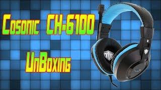 10$ Headphones | Cosonic CH-6100 |Unboxing 2017