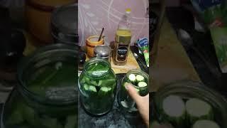 Засолка огурцов с лимонной кислотой