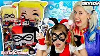 HARLEY QUINN Suicide Squad Toy Collection + Harley Quinn Surprise Eggs & Gotham City Sirens Surprise