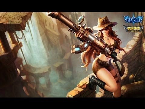 Caitlyn Guide Adc I Let's Play League of Legends Safari ...