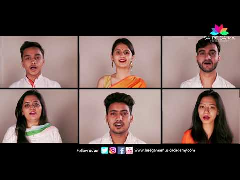 Vande Mataram I Independence Day Song I SaReGaMa Music Academy