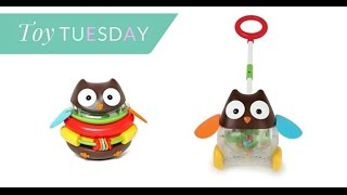 Toy Tuesday: Skip Hop Owl Collection