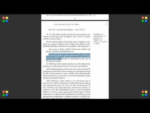 Indian Constitution Indian Constitution Video 11