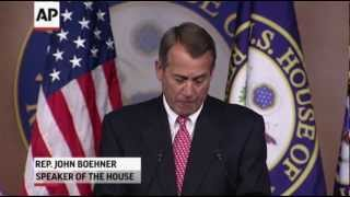 Boehner: Obama Ignoring Spending in 'cliff' Deal 12/14/2012